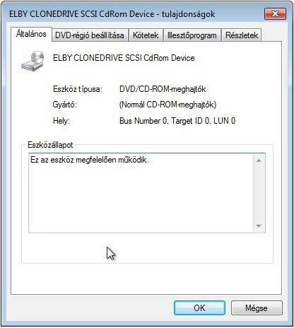 Virtual CloneDrive CDROM vezérlő