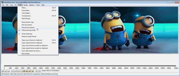 VirtualDub Video