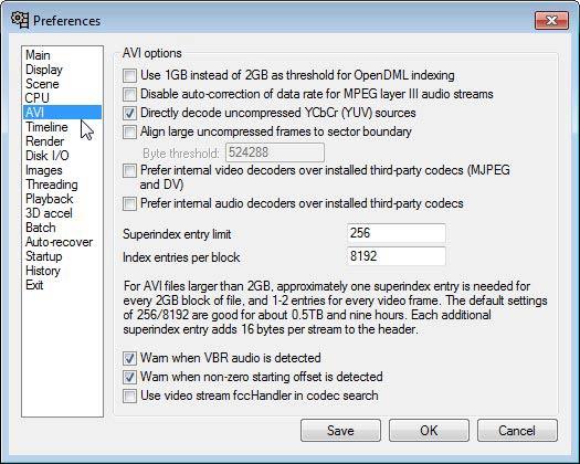 VirtualDub AVI