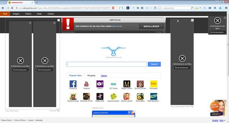 Firefox WebsSearcheszel