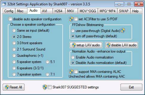 Win7codecs audio