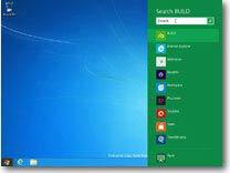Windows 8 Asztal keresés