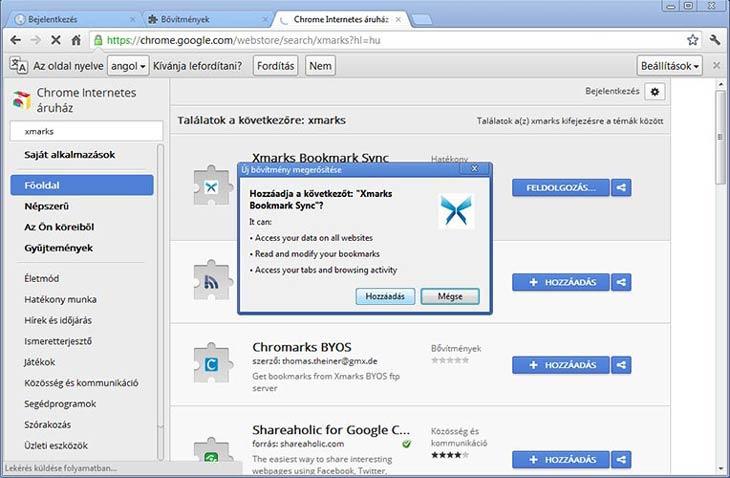 Xmarks Chrome