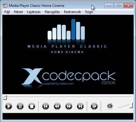 x codec pack mpc home cinema