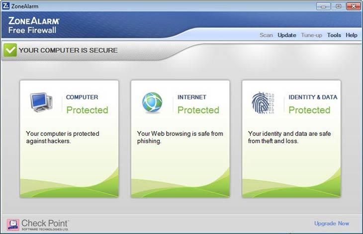 Zonealarm, személyiség és adatvédelem