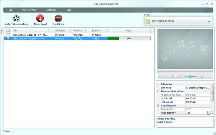 Any Audio Converter mp3
