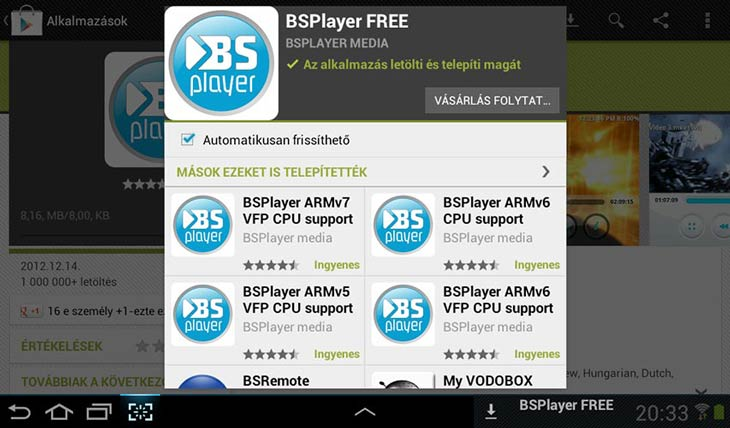 BSPlayer for Android