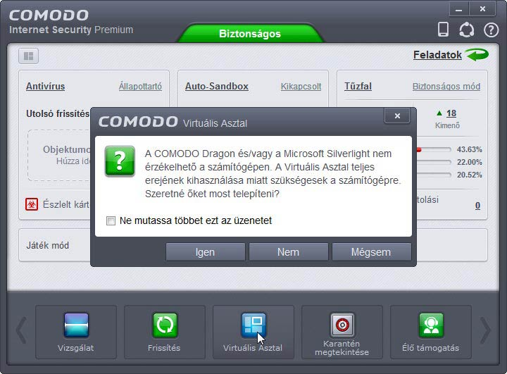Comodo Internet Security Dragon