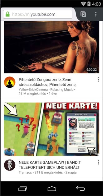 Firefox Android YouTube