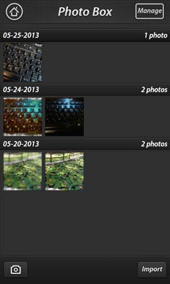 Fotor for Android Photo Box