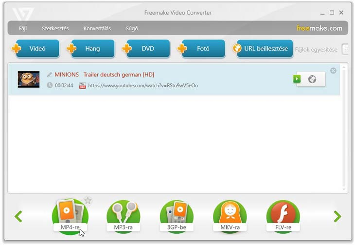 Freemake Video Converter mp4