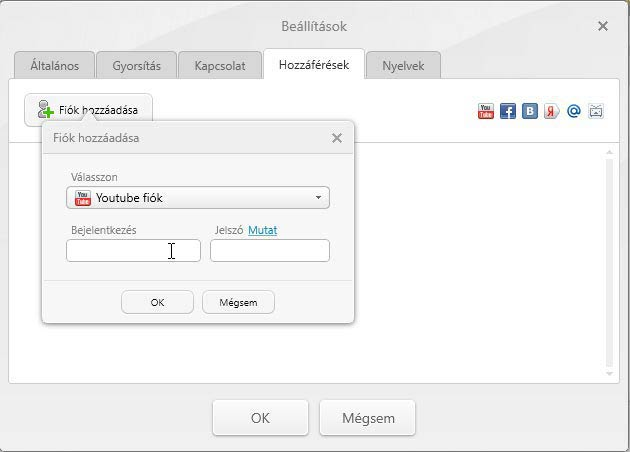 Freemake Video Converter YouTube fiók