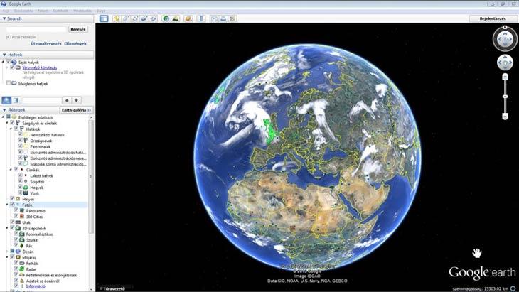 google föld térkép Föld, térkép és navigációs szoftverek google föld térkép