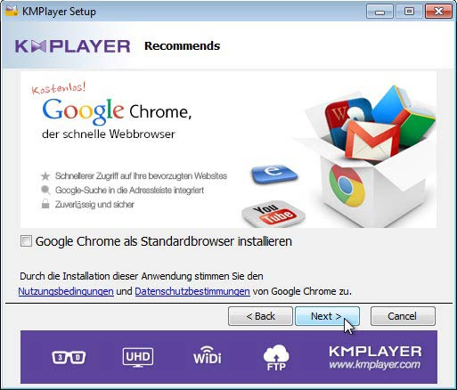 KMPlayer Chrome