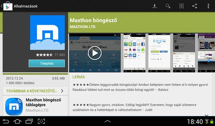 Maxthon for Android