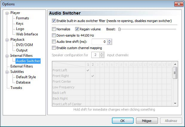 Media Player Classic switcher