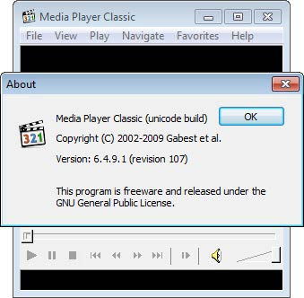 Media Player Classic - MPC