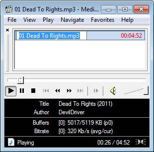 Media Player Classic mp3