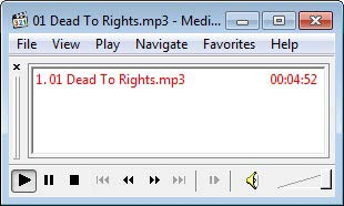 Media Player Classic audio