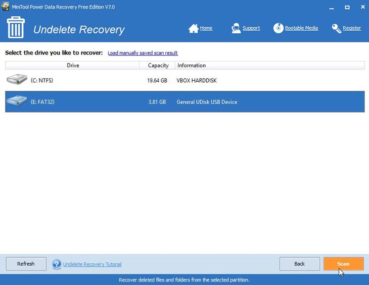 Power Data Recovery lemezek
