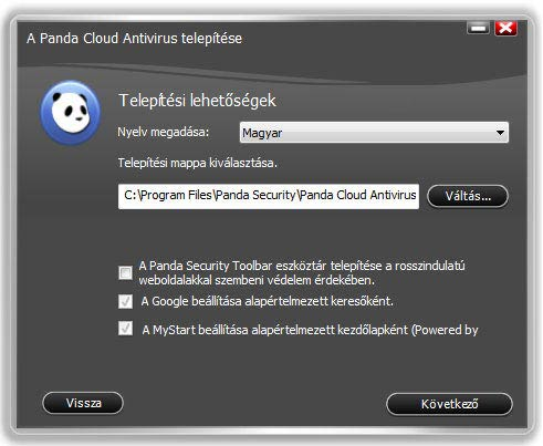 Panda Cloud Antivirus Toolbar