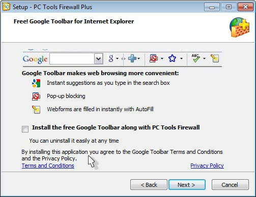 PC Tools Firewall Plus - ingyenes tűzfal
