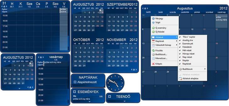 pc naptár letöltés Rainlendar naptár program pc naptár letöltés