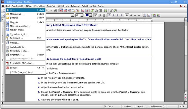 SoftMaker Office TextMaker