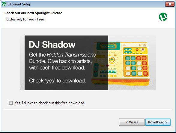 µTorrent DJ Shadow