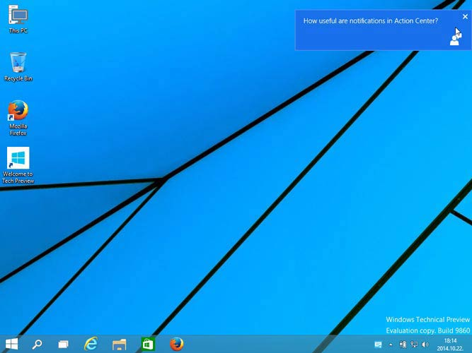 Windows 10 Preview Build 9860
