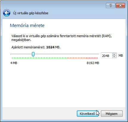 Virtualbox 2GB