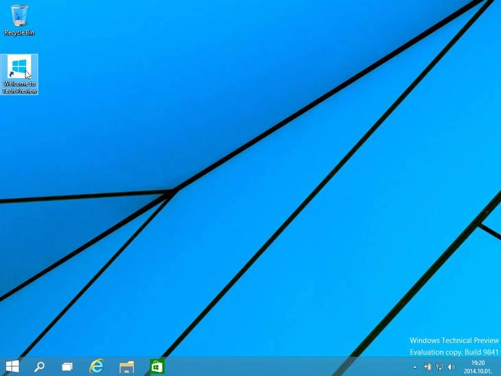 Windows 10 Welcome!